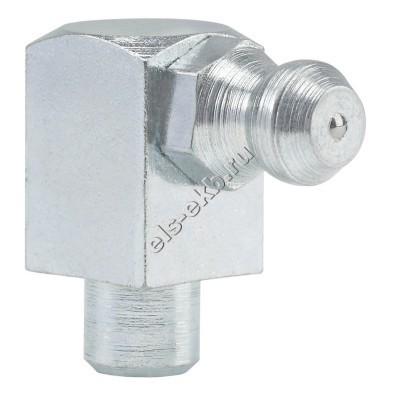 Пресс-масленка коническая угловая 90° H3 A, оцинкованная закаленная сталь заколачиваемая PRESSOL Ø 6 мм VZ, VK, ESN, арт. 15203