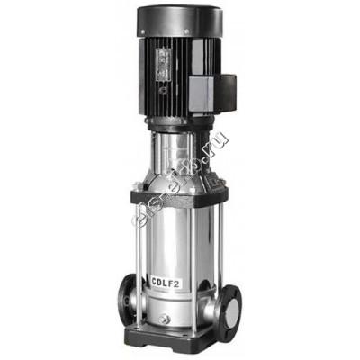 Насос многоступенчатый CNP CDLF2-15, арт. CDLF2-15F1SWSR (Qmax=3,5 м³/час; Hmax=134 м; 380В; 1,5 кВт; нерж., t≤120°C)