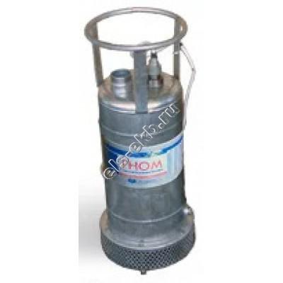 Насос дренажный погружной ГНОМ 25-20 с рубашкой охлаждения (Qmax=30 м³/час; Hmax=20 м; 380В; 2,2 кВт; кабель 5 метров; t ≤ +35°C)
