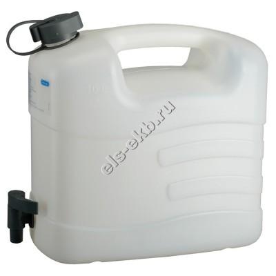 Канистра для воды PRESSOL, арт. 21163 (10 л; с краном)