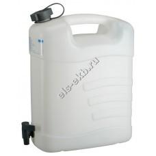 Канистра для воды PRESSOL, арт. 21165 (15 л, с краном)