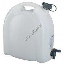 Канистра для воды PRESSOL, арт. 21175 (15 л, с краном)
