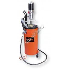 Система раздачи смазки пневматическая GROZ BGRP/15, арт. 45432 (50:1; с емкостью 15 л)