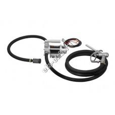 Комплект переносной для дизельного топлива электрический GROZ EPD/12M/ST, арт. 45531 (Qmax=46 л/мин, 12В)