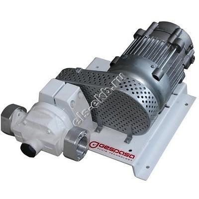 Насос лопастной поверхностный для бензина электрический GESPASA BAG-800 400V (Qmax=150 л/мин, Hmax=30 м, 380В)