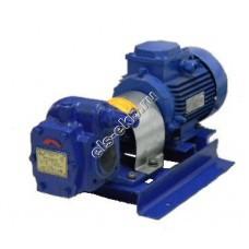 Насос шестеренный ЭЛС НМШ 5-25-4,0/25 с 5,5 кВт (ВЗИ) (Qmax=4 м³/час; Pmax=25 атм; 5,5 кВт; 380В)