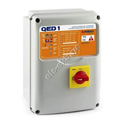 Пульт управления для одного дренажного насоса PEDROLLO QED1-TRI/3 (380В)
