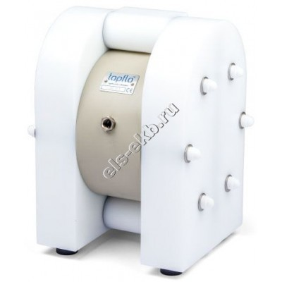 "Насос мембранный пневматический TAPFLO T200 PTT (Qmax=200 л/мин, Pmax=8 бар, 1 1/2"" BSP)"