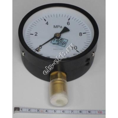 Манометр для насоса ГН-60МП3-Уф 10 МПа (кл. точн. 1,5; Ø 100мм, М20х1,5)