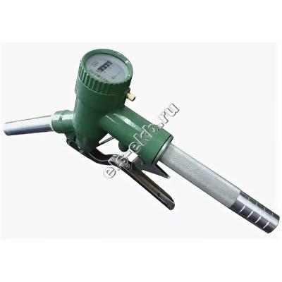 Пистолет со счетчиком для топлива ручной АМПИКА LLY-32 (Ø 38 мм; 120 л/мин)