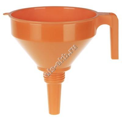 Воронка пластиковая для топлива и масла PRESSOL, арт. 02372 (Ø160 мм; 1,2 л; с ситом)