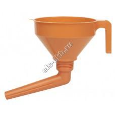 Воронка пластиковая для бензина и масла PRESSOL, арт. 02563 (Ø160 мм, 1,2 л, с ситом)