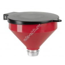 Воронка комбинированная для отработанного масла PRESSOL, арт. 02568 (Ø250 мм, 3,2 л, с крышкой)