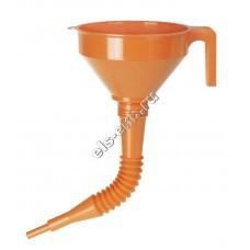 Воронка пластиковая для бензина и масла PRESSOL, арт. 02662 (Ø160 мм, 1,2 л, с гибким съемным сливом)