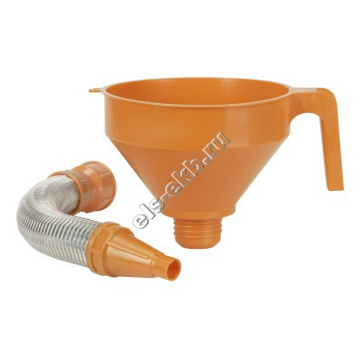 Воронка комбинированная для бензина и масла PRESSOL, арт. 02675 (Ø160 мм; 1,2 л; с ситом)
