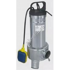 Насос фекальный погружной АМПИКА MCM 15-1F с поплавком (Qmax=18 м³/час; Hmax=9 м; 220В; 1,1 кВт; кабель 5 метров)