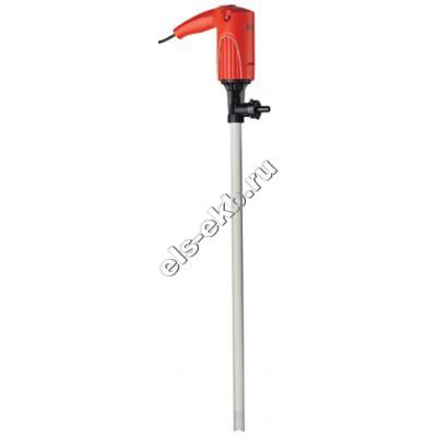 Насос бочковой электрический FLUX F314PVDF-25/19-500, арт. 10-31461005 (Qmax=35 л/мин; Hmax=4,5 м; 220В)