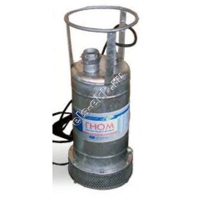 Насос дренажный погружной ГНОМ 53-10 с рубашкой охлаждения (Qmax=54 м³/час; Hmax=18 м; 380В; 4 кВт; кабель 5 метров; t ≤ +35°C)