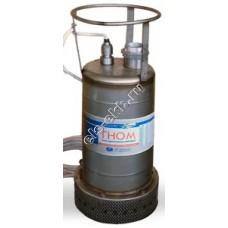 Насос дренажный погружной ГНОМ 80-25 с рубашкой охлаждения (Qmax=95 м³/час; Hmax=28 м; 380В; 7,5 кВт; кабель 10 метров; t ≤ +35°C)