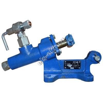 Насос опрессовочный ручной ГН-60 (Pmax=60 атм; Qmax=1,6 л/мин; без шланга и манометра)
