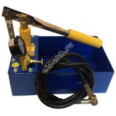 Опрессовщик ручной АМПИКА НА-40 (Pmax=40 атм; Qmax=13 cм³/цикл; с баком 5 л)