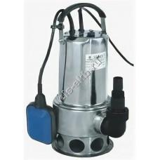 Насос фекальный погружной АМПИКА CS-1100SW с поплавком (Qmax=14,4 м³/час; Hmax=11,0 м; 220В; 1,1 кВт; кабель 10 метров с вилкой)