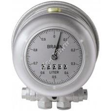 Счетчик механический PRESSOL HZ3 (0,003-0,5 л/мин, для горелок, дизтопливо)