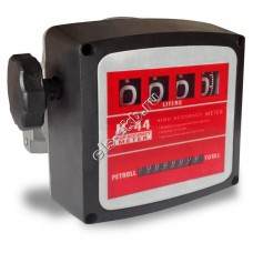 Счетчик механический PETROLL К-44 (20-120 л/мин, дизтопливо)