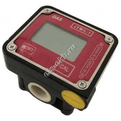 Счетчик электронный АМПИКА JYM/L-1 (1-35 л/мин; дизтопливо, керосин, масло и другие вязкие жидкости)