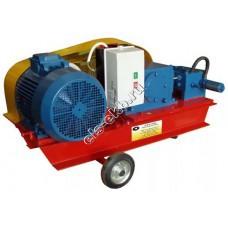 Опрессовщик электрический НП-800 (Pmax=800 атм; Qmax=4,2 л/мин; 380В; на тележке)