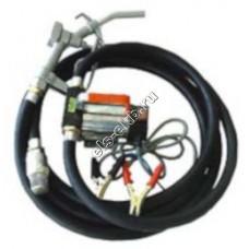 Комплект переносной для дизельного топлива электрический АМПИКА ETP-40 DC24 (Qmax=35 л/мин; 24В)