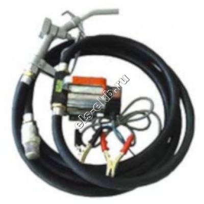 Комплект переносной для дизельного топлива электрический АМПИКА ETP-40 DC24 (Qmax=35 л/мин, 24В)