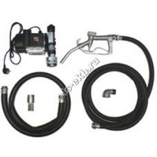 Комплект бочковой для дизельного топлива электрический АМПИКА ETP-60A-1 (Qmax=60 л/мин; 220В)