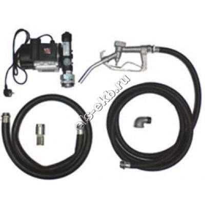 Комплект бочковой для дизельного топлива электрический АМПИКА ETP-60A-1 (Qmax=60 л/мин, 220В)