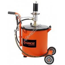 Система раздачи смазки пневматическая GROZ BGRP/30, арт. 45430 (50:1; с емкостью 30 л)
