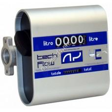 Счетчик механический ADAM PUMPS TECH FLOW 4C, арт. TF4 (20-120 л/мин, дизтопливо)