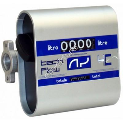 Счетчик механический ADAM PUMPS TECH FLOW 4C, арт. TF4 (20-120 л/мин; дизтопливо)