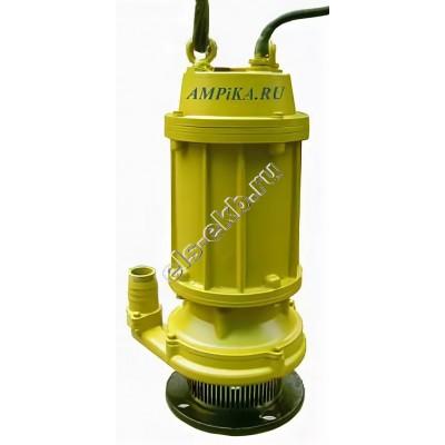 Насос дренажный погружной ГНОМ 12,5-50 (Qmax=27 м³/час; Hmax=52 м; 380В; 4 кВт; кабель 10 метров; высоконапорный)