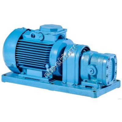 Насос шестеренный БГ 11-11Б (Qmax=0,18 м³/час; Pmax=5 атм; 0,25 кВт; 380В)