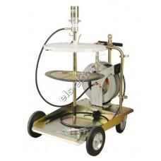 Система раздачи смазки пневматическая LUBEWORKS, арт. 1700536R (50:1; с катушкой, для емкостей 180 л)
