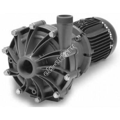 Насос центробежный с магнитной муфтой FINISH THOMPSON DB-22V с э/д 7,5 кВт (PVDF; Qmax=40 м³/час; Hmax=43 м; 380В; 7,5 кВт)