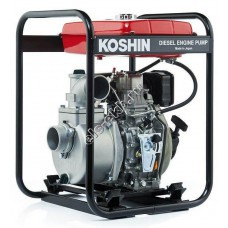 Мотопомпа дизельная KOSHIN SEY-80D (Qmax=52,8 м³/час; Hmax=26 м; DN 80; двигатель: Yanmar L48N6)