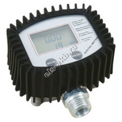 Счетчик электронный LUBEWORKS DM10002, арт. DM10002 (1-35 л/мин; масло, дизель)