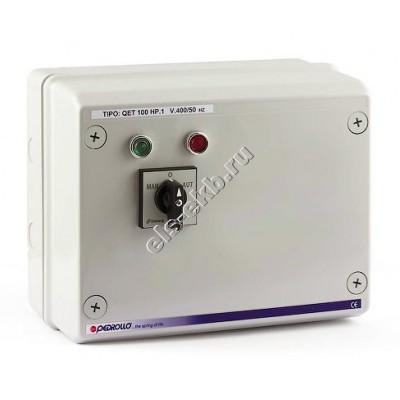"""Пульт управления для 4"""" и 6"""" погружных насосов PEDROLLO QET 075 (380В; 0,55 кВт)"""