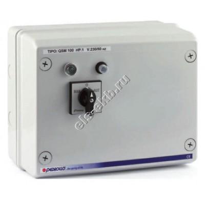 """Пульт управления для 4"""" насосов с датчиками уровня PEDROLLO QSM 100 (220В; 0,75 кВт)"""