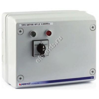 """Пульт управления для 4"""" и 6"""" насосов с датчиками уровня PEDROLLO QST 050 (380В; 0,37 кВт)"""