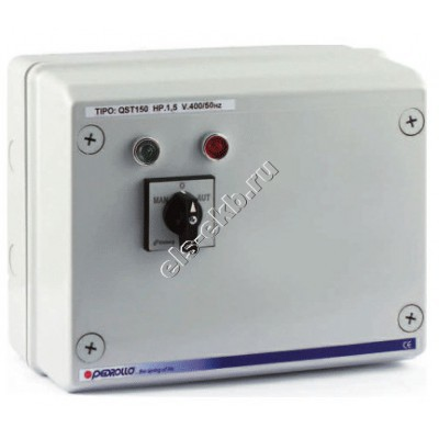 """Пульт управления для 4"""" и 6"""" насосов с датчиками уровня PEDROLLO QST 3000 (380В; 22 кВт)"""