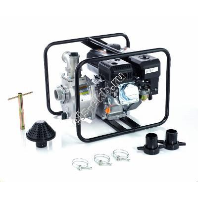 Мотопомпа бензиновая KOSHIN SEV-50X (Qmax=37,2 м³/час; Hmax=27 м; DN 50; двигатель: Koshin K180)