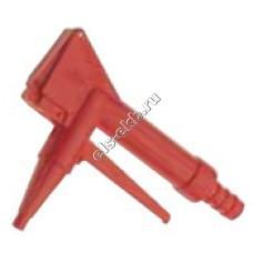 Пистолет химический ручной FLUX из полипропилена, арт. 10-00113039 (штуцер под шланг Ø 19 мм; 35 л/мин; уплотнение FKM)