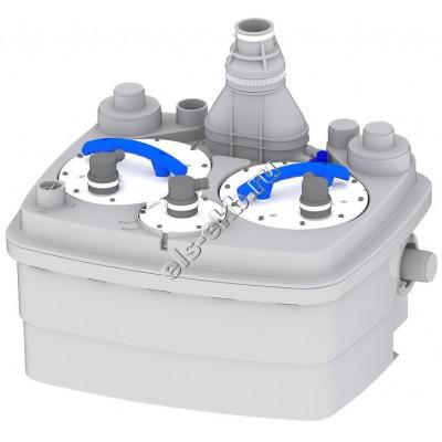 Канализационная станция SFA SANICUBIC2 CLASSIC NM (Qmax=20,4 м³/час; Hmax=11 м; 220В; 2х1,5 кВт)